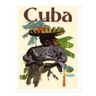 Cuba and Creole Woman Postcard