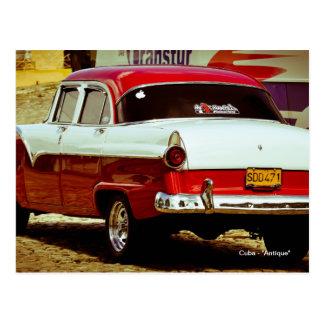 "Cuba - ""Antique"" Postcard"