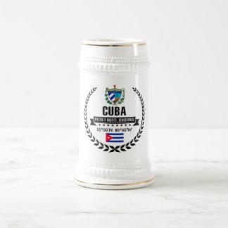 Cuba Beer Stein