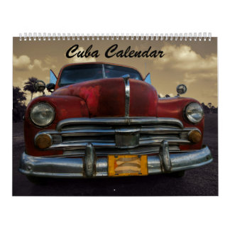 Cuba Calendar 2018