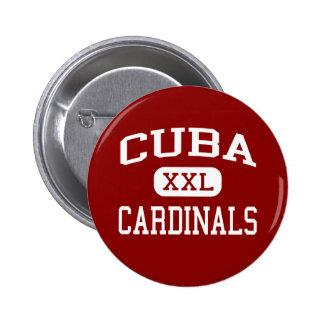 Cuba - Cardinals - Senior - Cuba Illinois 2 Inch Round Button