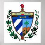 Cuba Coat Of Arms Poster