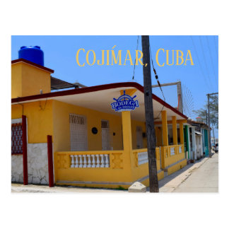 Cuba: Cojímar Restaurant Bodega de las Brisas Postcard