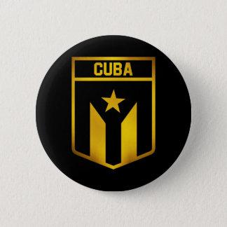 Cuba Emblem 2 Inch Round Button