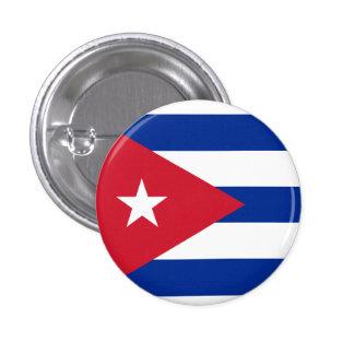 Cuba Flag 1 Inch Round Button