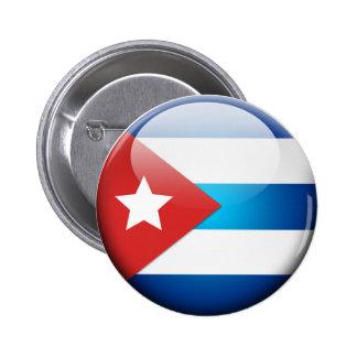 Cuba_Flag_2.0 2 Inch Round Button