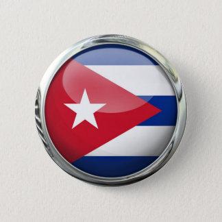 Cuba Flag 2 Inch Round Button