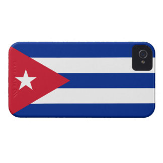 Cuba Flag Barely There™ iPhone 4 Case