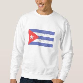 Cuba Flag (Distressed) Sweatshirt