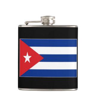 Cuba Flag Flask