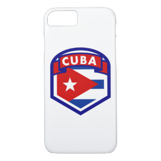 Cuba Flag Shield iPhone 8/7 Case