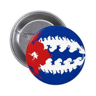 Cuba Gnarly Flag Pin