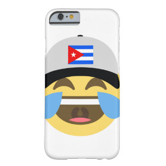 Cuba Hat Laughing Emoji Barely There iPhone 6 Case