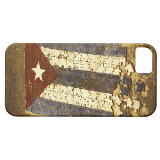 CUBA, Havana. Mosaic puzzle of the cuban flag in iPhone 5 Cases