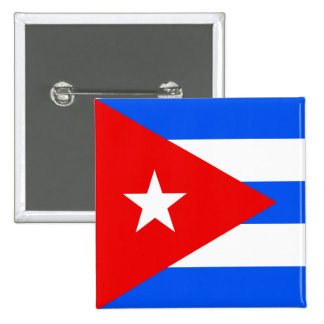 Cuba High quality Flag 2 Inch Square Button