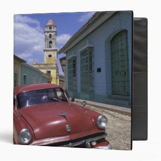 Cuba, old colonial village of Trinidad. 3 Ring Binder