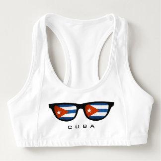 Cuba Shades custom sports bra