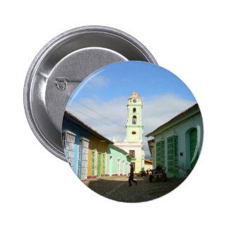 Cuba Trinidad 2 Inch Round Button