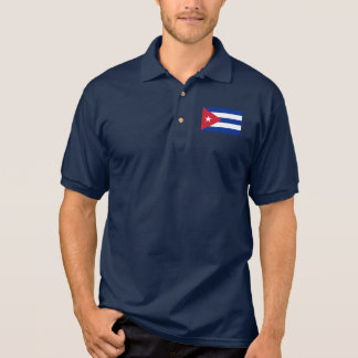 Cuba World Flag Polo Shirt