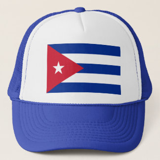 Cuba World Flag Trucker Hat