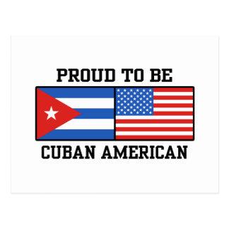 Cuban American Postcard
