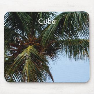 Cuban Beach Mouse Pad