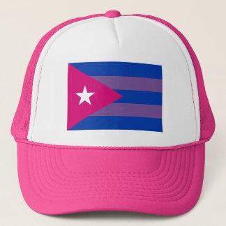 Cuban Bi Pride Bisexual LGBT Trucker Hat