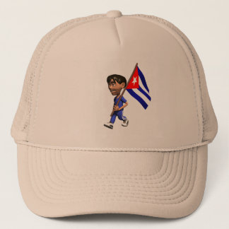 Cuban Boy Trucker Hat