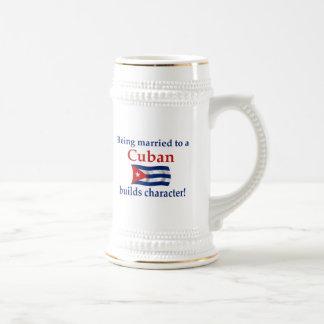 Cuban Builds Character Coffee Mug