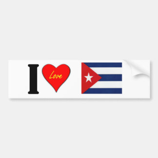 CUBAN BUMPER STICKER