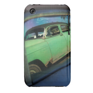 Cuban car reflection Case-Mate iPhone 3 cases