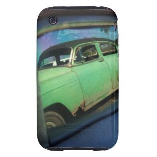 Cuban car reflection tough iPhone 3 cases