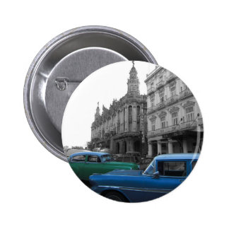 Cuban Cars 1 2 Inch Round Button