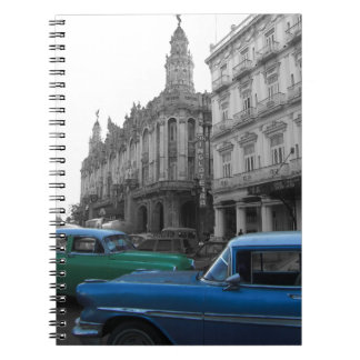 Cuban Cars 1 Spiral Notebook