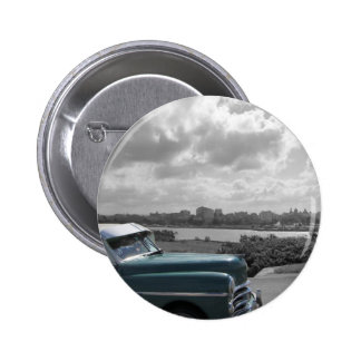 Cuban Cars 2 2 Inch Round Button