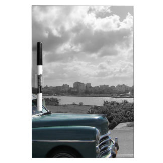 Cuban Cars 2 Dry Erase Boards