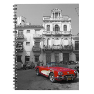 Cuban Cars 3 Notebook