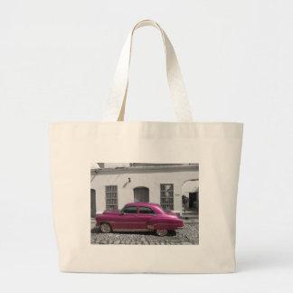 Cuban Cars 4 Large Tote Bag