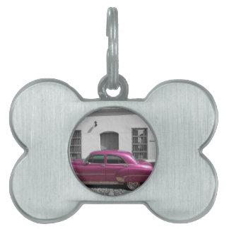 Cuban Cars 4 Pet ID Tags