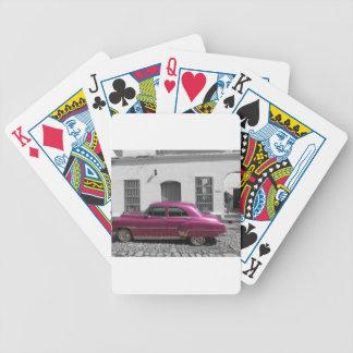 Cuban Cars 4 Poker Deck