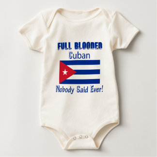 Cuban citizen design baby bodysuit