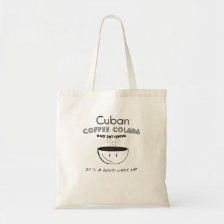 cuban colada tote bag