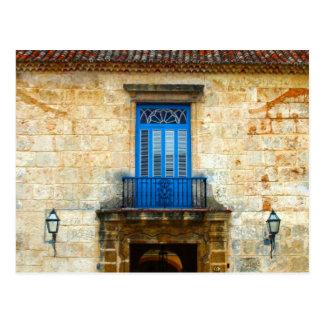 Cuban Door Postcard