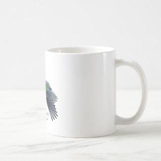 Cuban Emerald Hummingbird with Name Coffee Mug