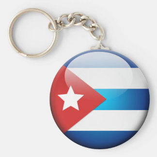 Cuban Flag 2.0 Keychain