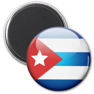 Cuban Flag 2.0 Magnet