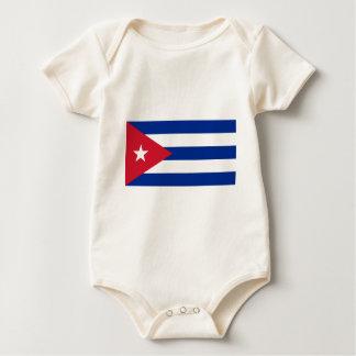 Cuban Flag - Bandera Cubana - Flag of Cuba Baby Bodysuit