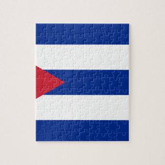 Cuban Flag - Bandera Cubana - Flag of Cuba Jigsaw Puzzle