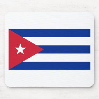 Cuban Flag - Bandera Cubana - Flag of Cuba Mouse Pad