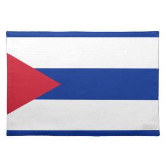 Cuban Flag - Bandera Cubana - Flag of Cuba Place Mat